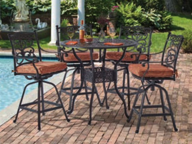 Favorite Bar And Counter Sets – Fortunoff Backyard Store Inside Market 5 Piece Counter Sets (View 8 of 20)