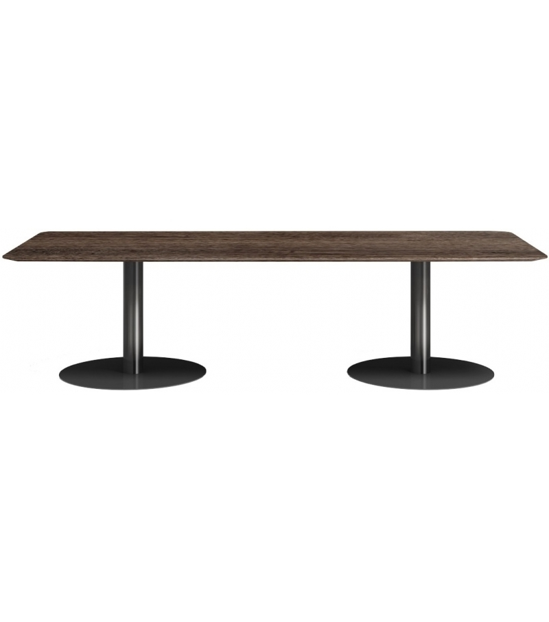 Favorite Bellagio Dining Tables Within Bellagio Dining Pewter Minotti Table – Milia Shop (View 11 of 20)