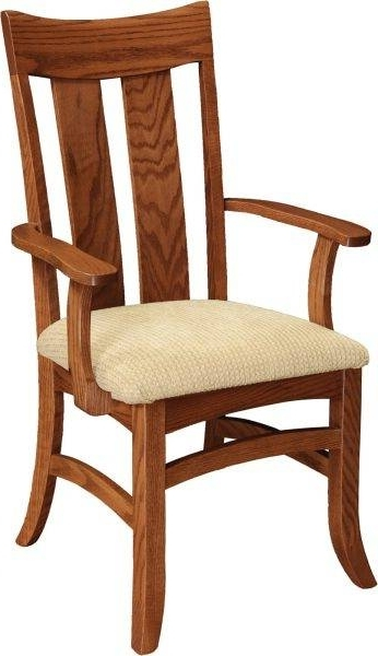 Favorite Biltmore Side Chairs Pertaining To Biltmore Arm Chair – Home Acres Fine Furniture • Hand Crafted (View 15 of 20)
