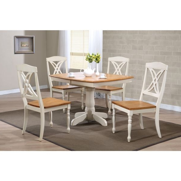 Favorite Boat Shaped Caramel/ Biscotti Butterfly Back 5 Piece Dining Set With Regard To Caden 5 Piece Round Dining Sets With Upholstered Side Chairs (View 4 of 20)