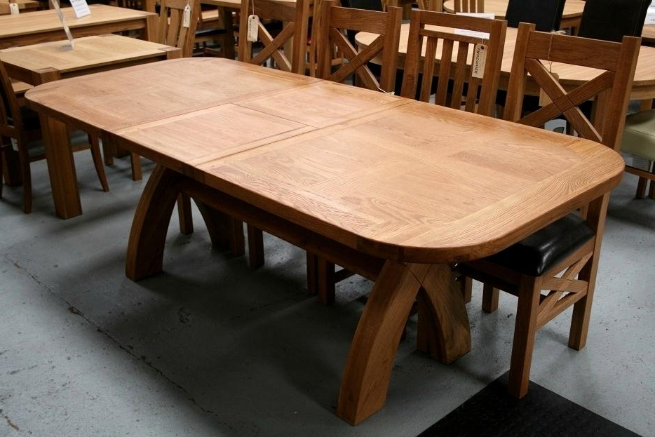 Favorite Breathtaking Oval Oak Dining Table Chairs Vancouver Cross Leg Oval Pertaining To Oval Oak Dining Tables And Chairs (Gallery 11 of 20)