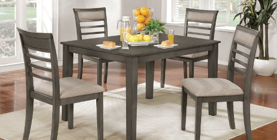 Favorite Buy 5 Piece Sets Kitchen & Dining Room Sets Online At Overstock With Palazzo 6 Piece Dining Sets With Pearson Grey Side Chairs (View 6 of 20)