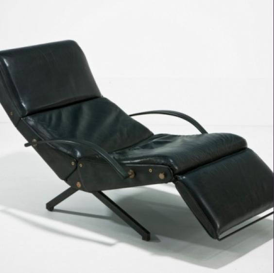 Favorite Caira Black Upholstered Side Chairs Inside Caira Mandaglio, London – Articulated P40 Chairosvaldo Borsani (View 10 of 20)