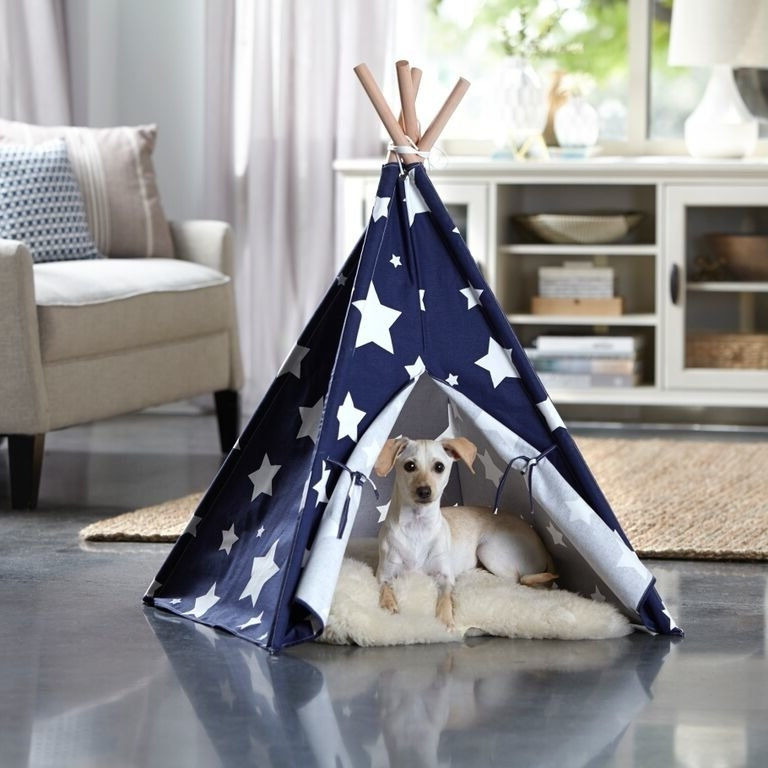 Favorite Carly Triangle Tables Throughout Tucker Murphy Pet Carly Teepee Dog Bed & Reviews (View 7 of 20)