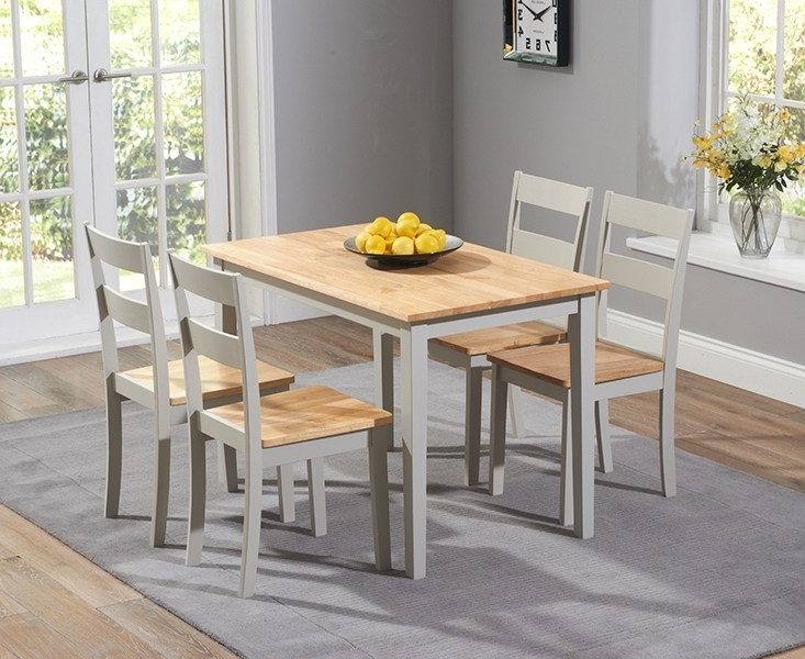 Favorite Chichester Dining Tables In Buy Mark Harris Chichester Oak And Grey Dining Set – 115Cm (View 10 of 20)