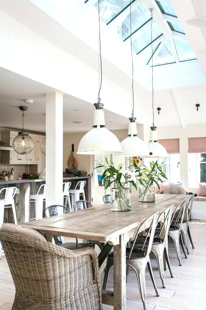 Favorite Coastal Round Dining Table Beach House Dining Room With Round With Regard To Coastal Dining Tables (View 12 of 20)