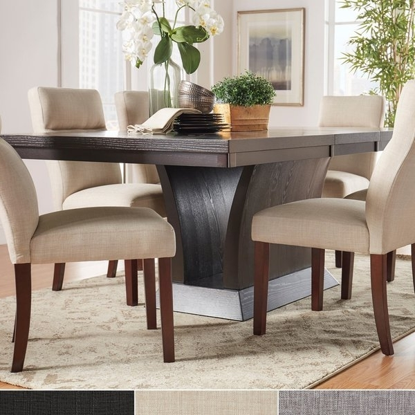 Favorite Contemporary Dining Sets In Shop Charles Espresso Contemporary Dining Setinspire Q Modern (View 8 of 20)