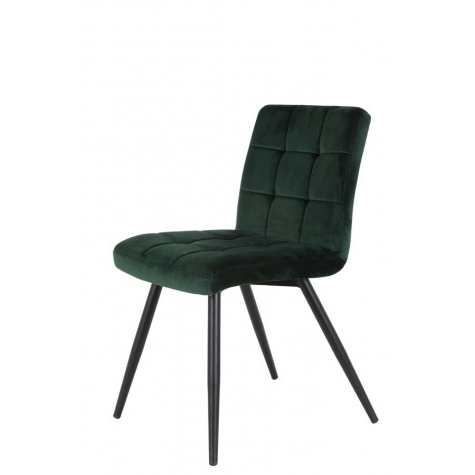 Favorite Dark Olive Velvet Iron Dining Chairs For Dining Chair 49x57x84 Cm Olive Velvet Dark Green – Inspiring (View 2 of 20)