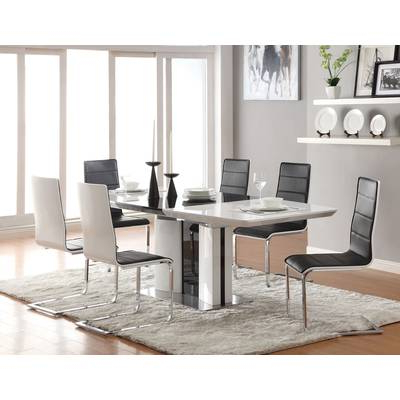 Favorite Delfina Dining Tables With Regard To At Home Usa Delfina Expandable Dining Table & Reviews (View 11 of 20)