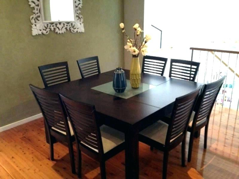 Favorite Dining Tables 8 Chairs With 8 Piece Poker Dining Table Set With Chairs Gumtree Sydney – Mybeanstalk (Gallery 11 of 20)