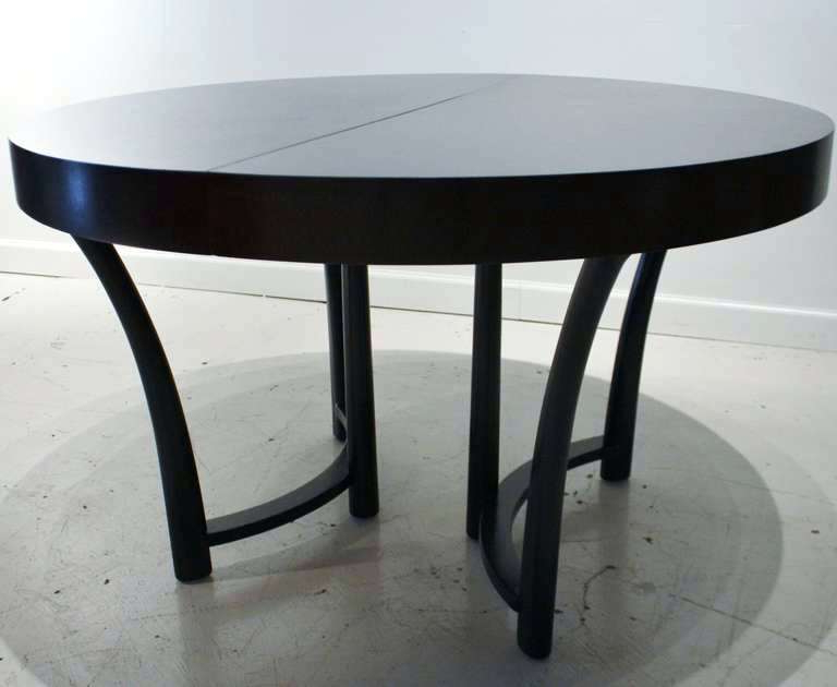 Favorite Expandable Dining Table And Chairs Butterfly Compact Glass Round For Glass Round Extending Dining Tables (View 14 of 20)