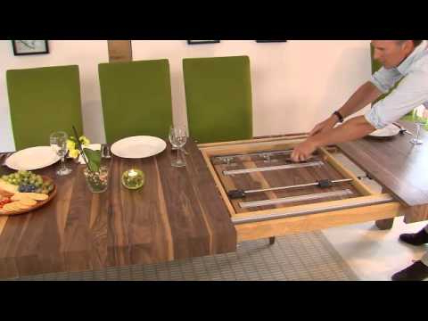 Favorite Extending Rectangular Dining Tables Throughout Table Mechanisms Pedestal Rectangular Extending Dining Tables  (View 10 of 20)