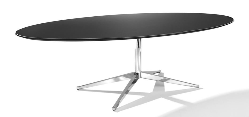 "Favorite Florence Knoll Dining Table – 60"" X 36"" (Gallery 16 of 20)"