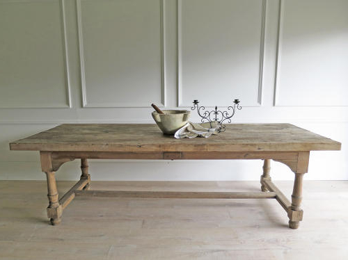 Favorite French Farmhouse Dining Tables With 18Th C French Farmhouse Dining Table – Circa 1790 In Antique Tables (View 5 of 20)