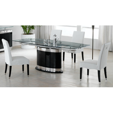 Favorite Glass Dining Table Set (View 4 of 20)