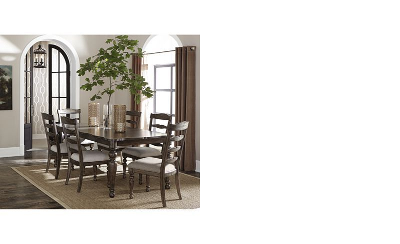 Favorite Hamilton Expandable Dining Furniture, 7 Pc (View 12 of 20)