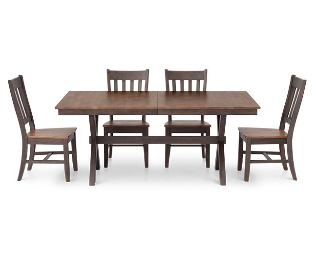 "Favorite Hudson Park 60"" Rectangle Dining Table – Furniture Row With Regard To Hudson Dining Tables And Chairs (View 10 of 20)"
