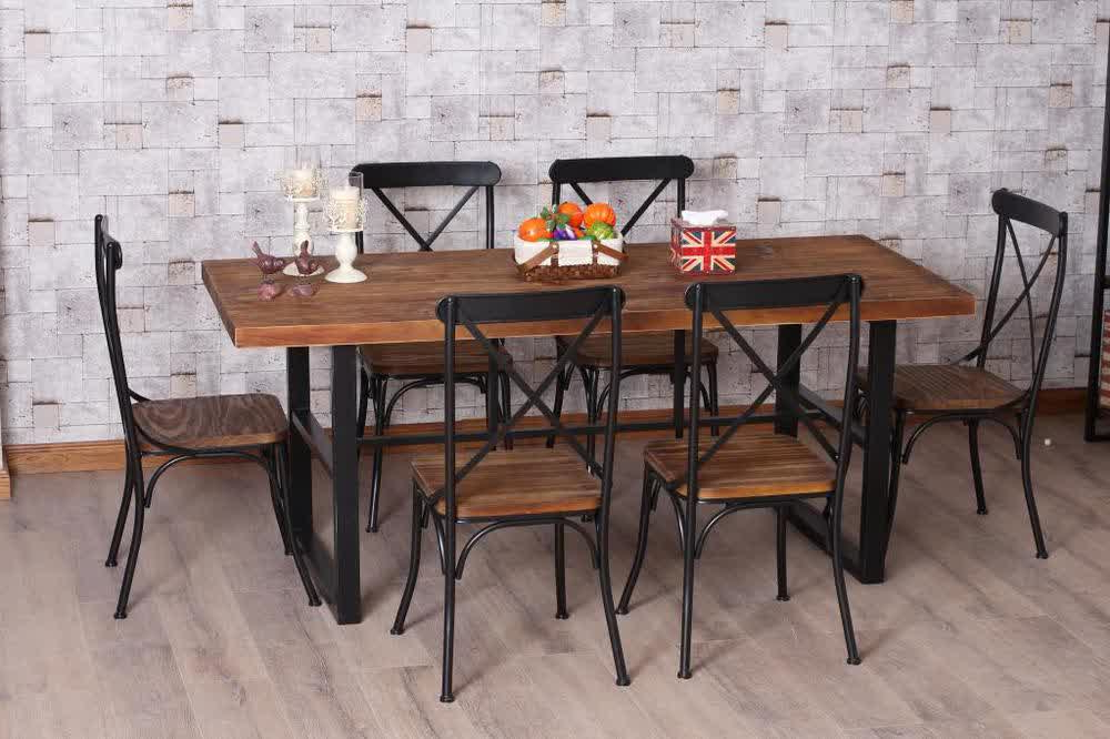 Favorite Iron And Wood Dining Tables With Wrought Iron Kitchen Tables Displaying Attractive Furniture Ideas (View 5 of 20)