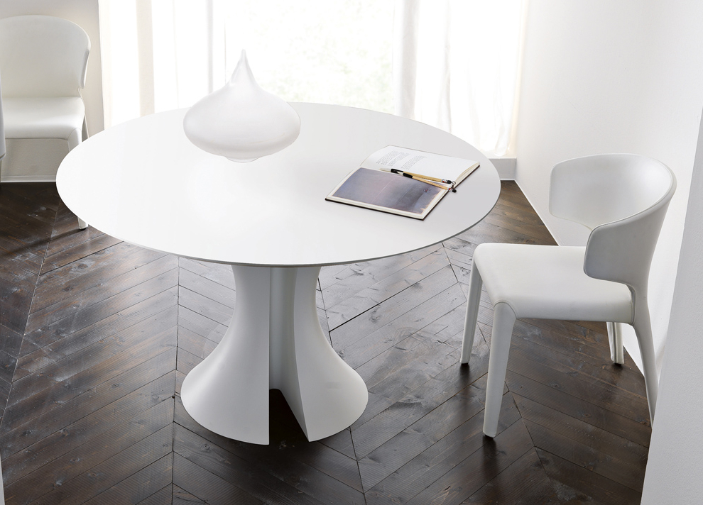 Favorite Large White Round Dining Tables For Large White Round Dining Table – Dining Tables Ideas (View 6 of 20)