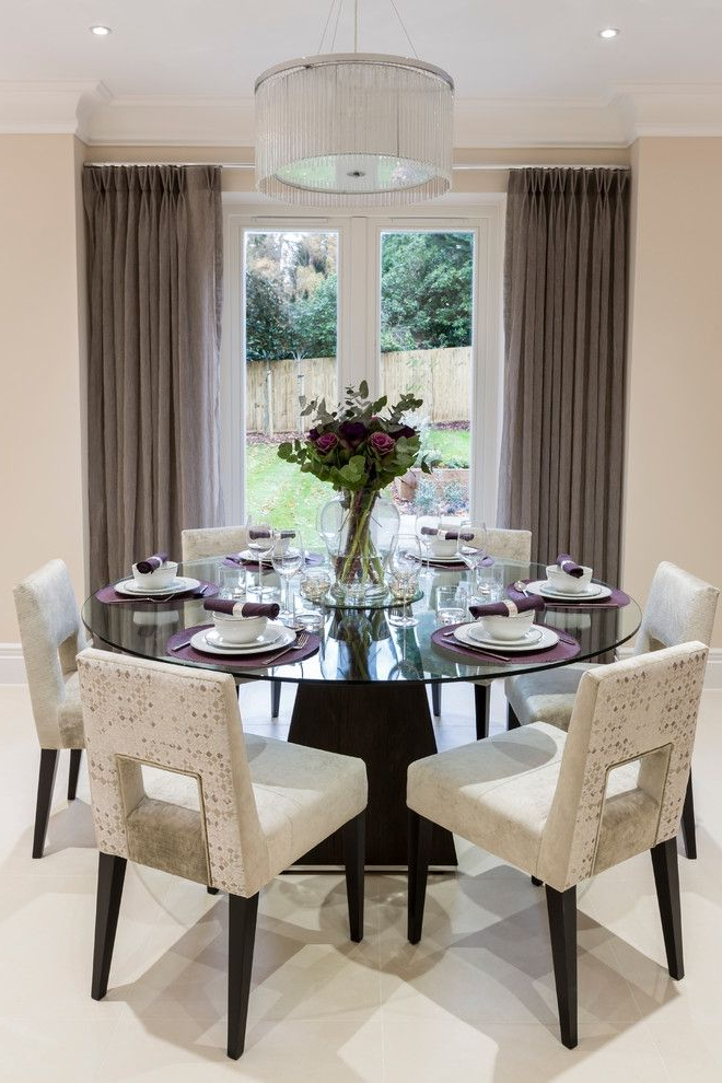 Favorite Lindy Espresso Rectangle Dining Tables Within Decorative Dining Room Transitional Design Ideas For French Round (View 13 of 20)
