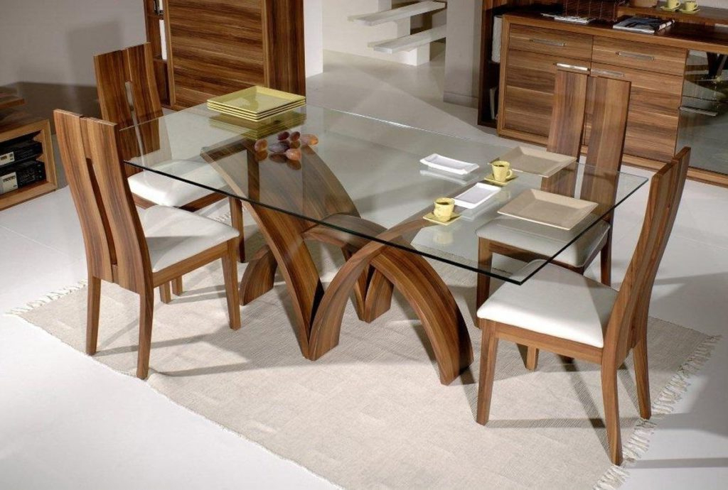 Favorite Oak And Glass Dining Tables Sets With Kitchen : Round Glass Table Small Round Glass Dining Table Oak And (View 5 of 20)