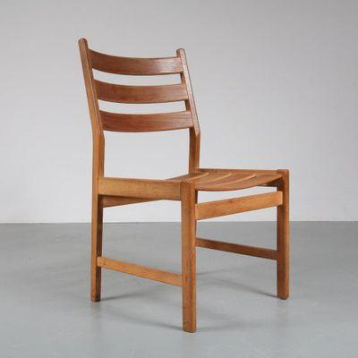 Favorite Oak Dining Chairs Inside Oak Dining Chairskurt Østervig For Kp Møbler, 1950S, Set Of 6 (Gallery 8 of 20)