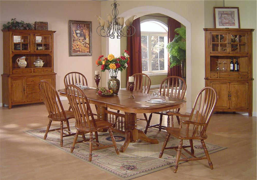 Favorite Oak Dining Tables Sets In Dining Table Set Oak – Castrophotos (View 13 of 20)