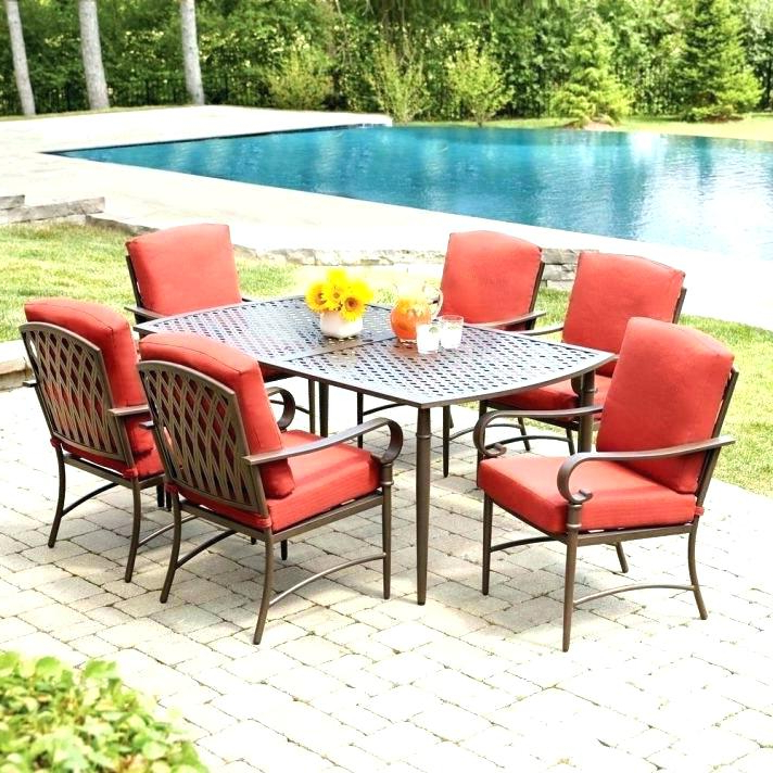 Favorite Outdoor Dining Table And Chairs Sets In Patio Furniture Dining Table – Plumba (View 4 of 20)