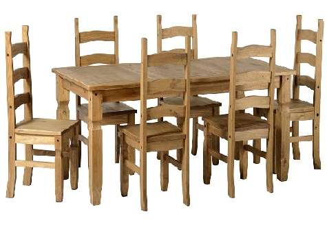 Favorite Pine And Other Dining Tables And Chairs – Cooks Furnishings, Carpets Inside Rio Dining Tables (View 3 of 20)