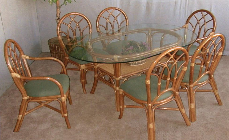 Favorite Rattan Dining Tables Intended For Aruba Rattan Collection : Jaetees Wicker, Wicker Furniture (View 5 of 20)