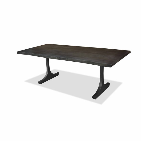 Favorite Shop Portland Live Edge Honey Finish Dining Table – Free Shipping Intended For Portland 78 Inch Dining Tables (View 6 of 20)