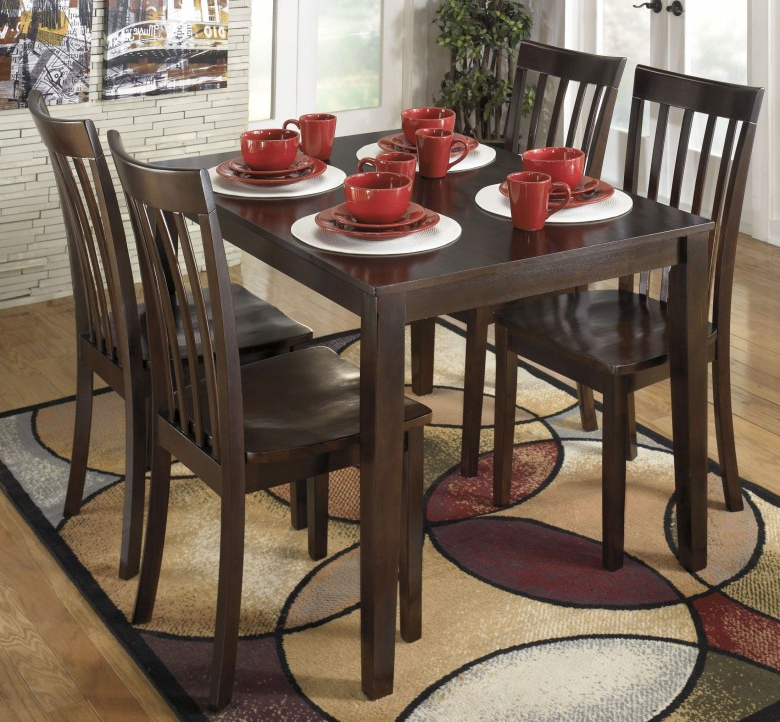 Favorite Signature Designashley Hyland 5 Piece Casual Dining Set – Hyland Pertaining To Hyland 5 Piece Counter Sets With Stools (View 6 of 20)