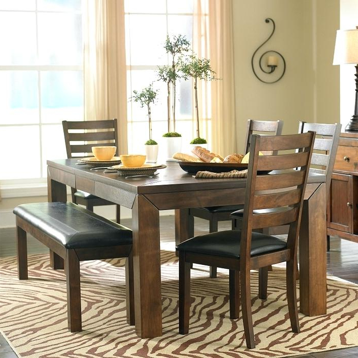 Favorite Small Dining Tables And Bench Sets Pertaining To Small Dining Table With Benches – Darog (Gallery 10 of 20)