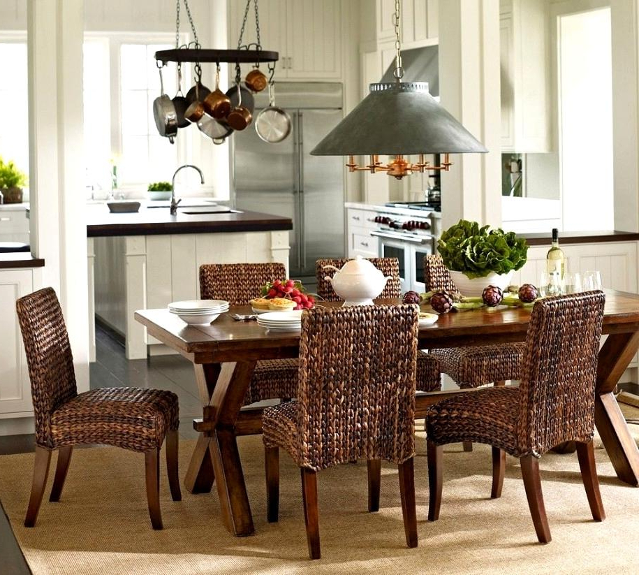 Favorite Splendid Dining Room Rattan Chairs Attan Dining Room Table And Inside Rattan Dining Tables And Chairs (Gallery 17 of 20)