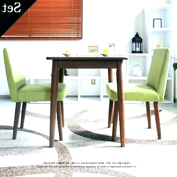 Favorite Two Seat Dining Table 2 Kitchen Set Decor Sets View Larger 8 And Regarding Two Chair Dining Tables (Gallery 3 of 20)