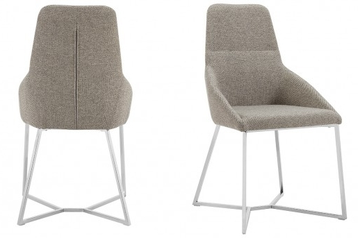 Favorite Vig Stark Light Grey Fabric Dining Chair Dallas Tx (View 6 of 20)