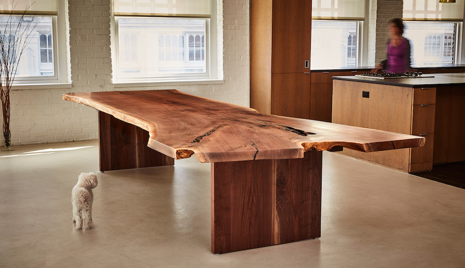Favorite Walnut Dining Tables Intended For Handcrafted Custom Walnut Dining Tables (View 18 of 20)
