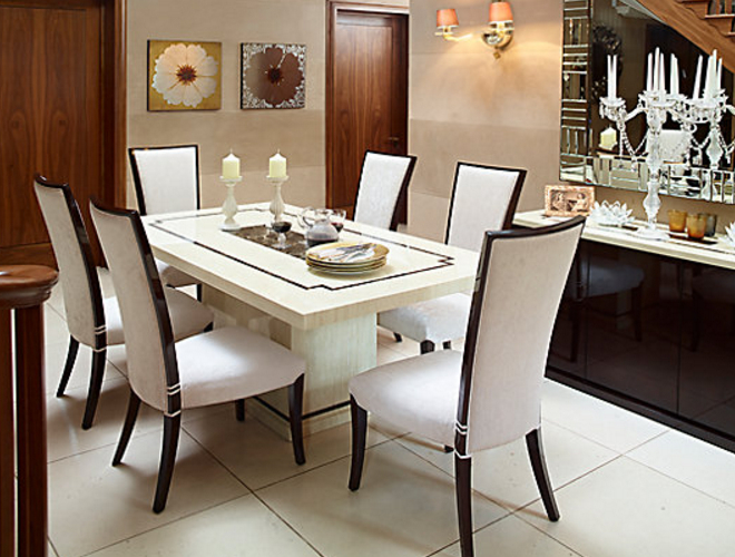Favorite White Dining Tables Sets With 7 Beautiful White Rectangular Table Sets For Everyday Use – Cute (View 16 of 20)