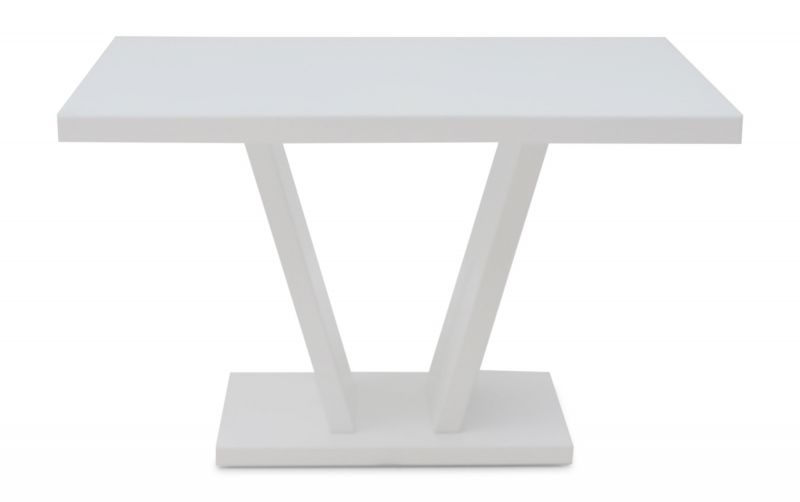 Favorite White Gloss Dining Tables 120Cm With Torelli Valentino 120Cm White High Gloss Dining Table (View 6 of 20)