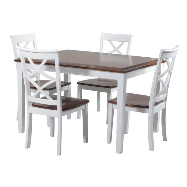Favorite White Kitchen & Dining Room Sets You'll Love (View 14 of 20)