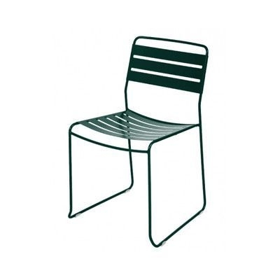 Fermob Surprising Stacking Dining Side Chair Finish: Cedar Green Within Favorite Green Cedar Dining Chairs (View 7 of 20)