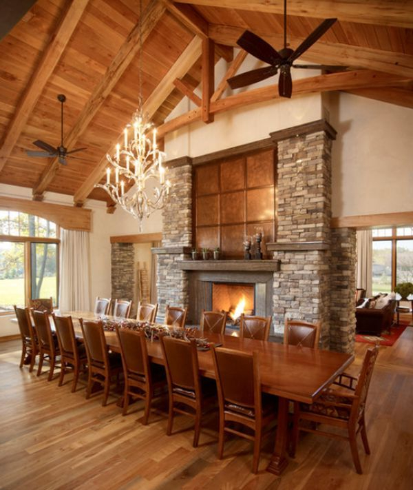 Fireplaces & Firepits – We Love Fire Regarding Current Long Dining Tables (View 8 of 20)