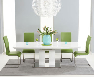 First Furniture In Popular Gloss Dining Sets (View 10 of 20)