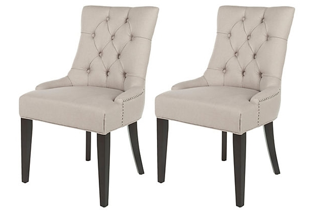 Flash Sale Lals: Tufted Dining Chairs (View 11 of 20)