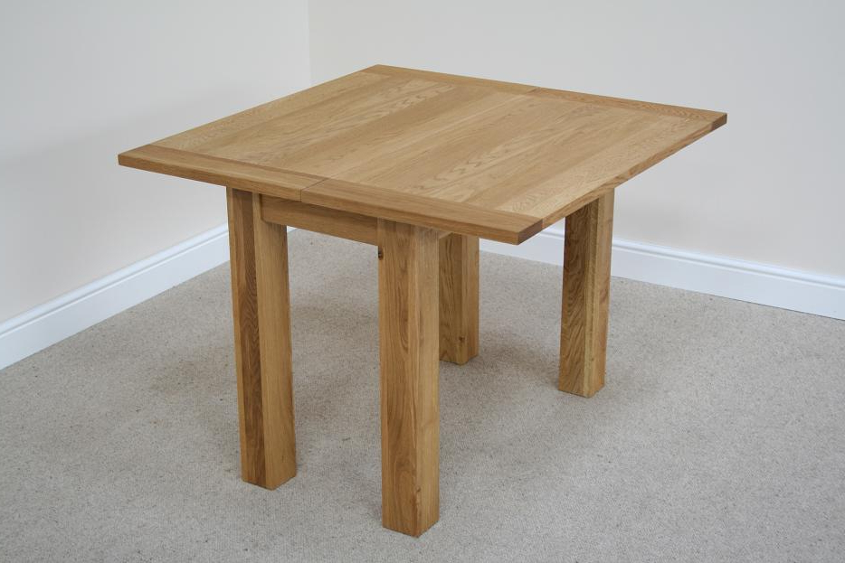 Flip Top Oak Dining Tables (View 7 of 20)