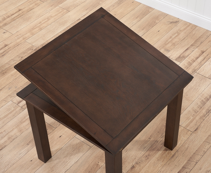 Flip Top Oak Dining Tables Pertaining To 2018 Buy Mark Harris Sandringham Solid Dark Oak Square Flip Top Extending (Gallery 5 of 20)