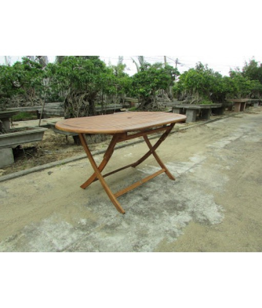 Folding Dining Table With Regard To Recent Oval Folding Dining Tables (View 5 of 20)