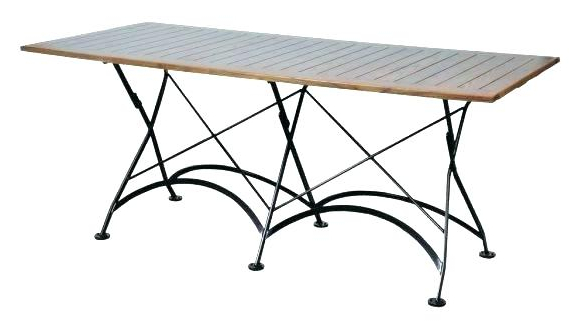 Folding Outdoor Dining Tables Pertaining To 2018 Folding Outdoor Dining Table Nice Folding Outdoor Dining Table (View 9 of 20)
