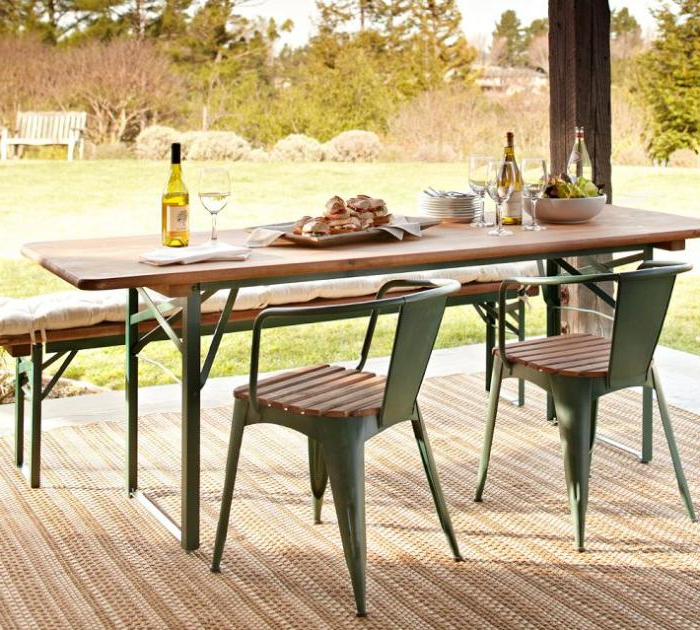 Featured Photo of Folding Outdoor Dining Tables