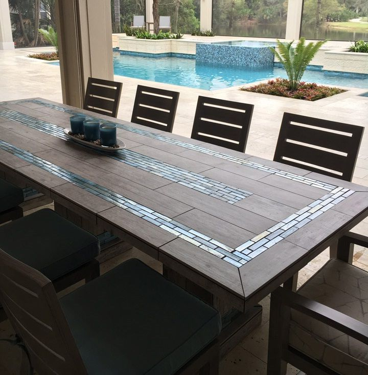 For The Home In 2018… Intended For Popular Mosaic Dining Tables For Sale (View 4 of 20)